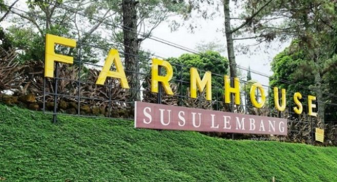 Farmhouse Lembang di Bandung Jawa Barat