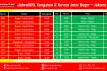 KRL Bogor Jakarta Kota – Jadwal Rute Dan Harga Tiket