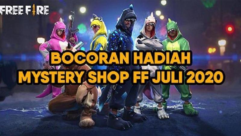 Mystery Shop Free Fire Juli 2020 Sudah Rilis Hari Ini