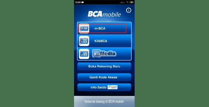 Klik m-BCA