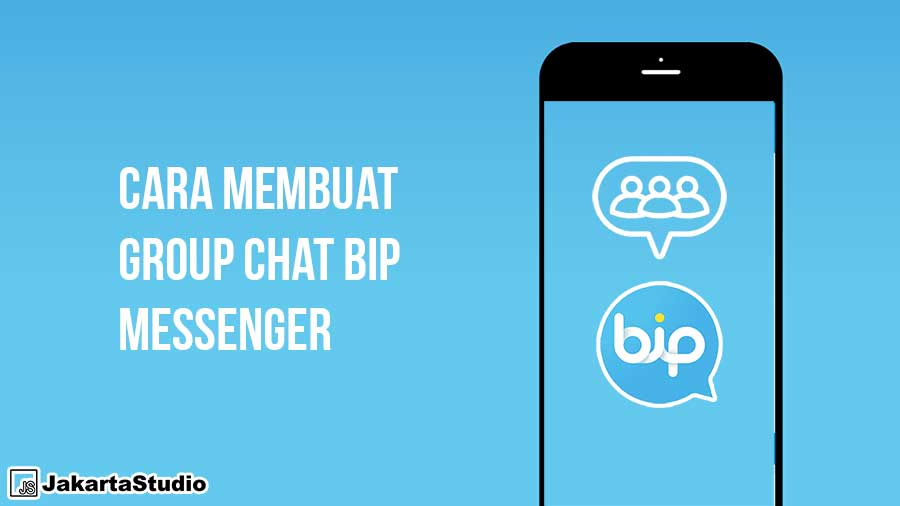 Cara Membuat Group Chat BiP Messenger