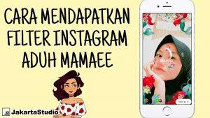 Filter DJ Musik Aduh Mamae Instagram