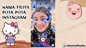 Filter Pota Pota Instagram