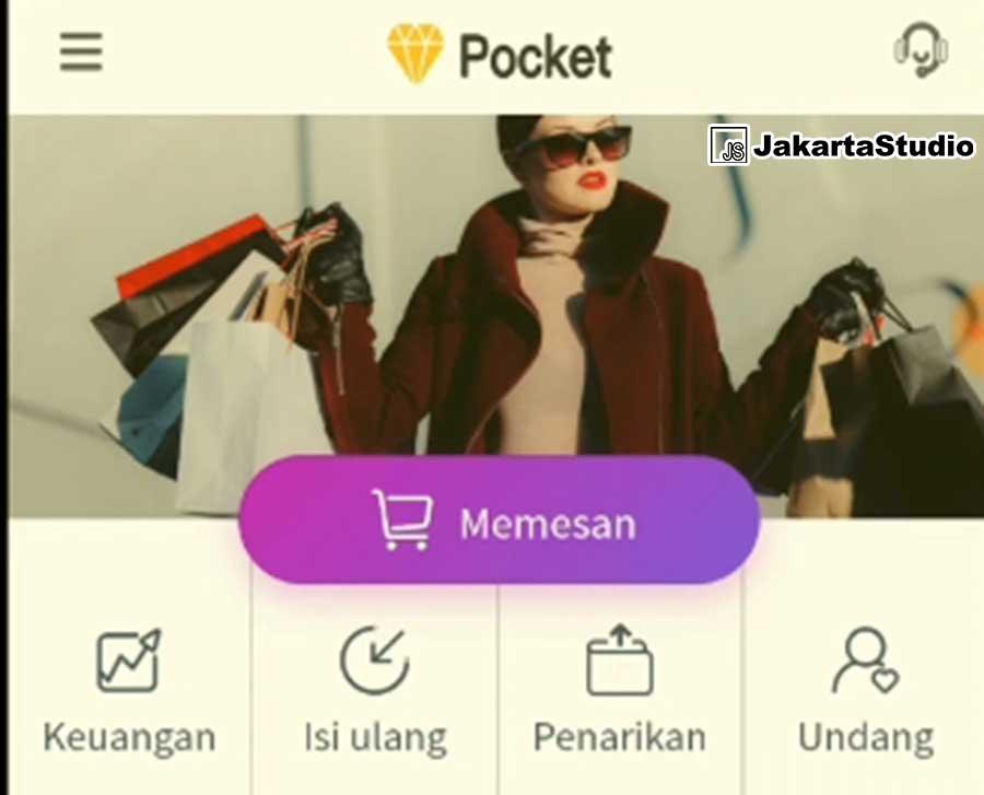 Pocket APK Aplikasi Penghasil Uang