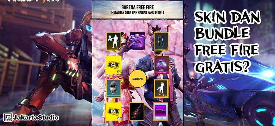 luckyspinff2021 berhadiah skin bundle gratis