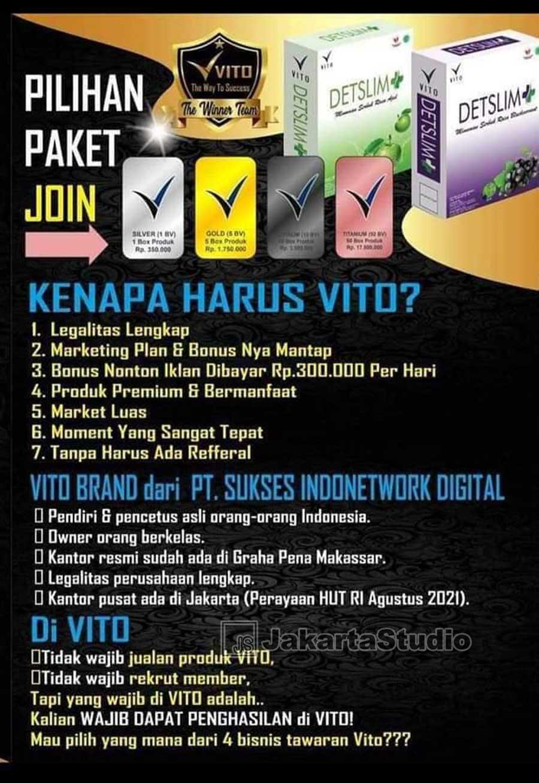 Vito Indonesia Aplikasi Penghasil Uang Atau Scam