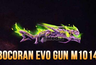 Bocoran Skin Evo Gun M1014 Green Flame Draco