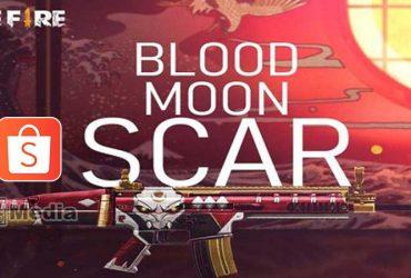 Cara Mendapatkan Kode Redeem Scar Blood Moon FF