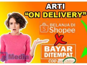 Apakah Arti dari On delivery Shopee?