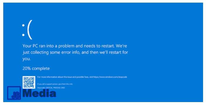 4 Cara Mengatasi Laptop Blue Screen