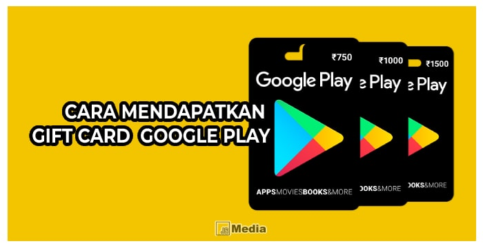 Tips Cara Dapat Google Play Card Gratis mudah