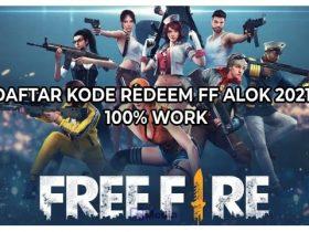 Daftar Kode Redeem FF Alok 2021