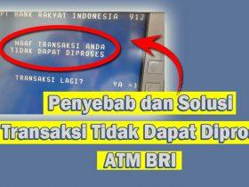 Transaksi Tidak Dapat Diproses ATM BRI? Ini Dia Solusi Tepat 100%!