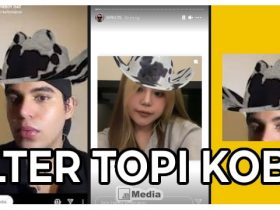 Cara Mendapatkan Filter IG Topi Koboi, Chill Banget